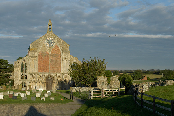 View of Binham Priory