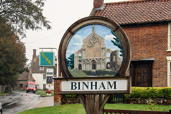Binham Village Sign