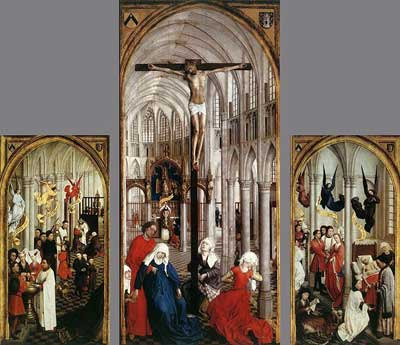 The Seven Sacraments by Rogier van der Weyden, c. 1448