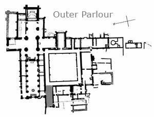 Outer Parlour location on the plan